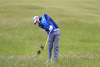 Alex Maguire (Laytown &amp; Bettystown) during the 2nd round of the East of Ireland championship, Co Louth Golf Club, Baltray, Co Louth, Ireland. 03/06/2017<br /> Picture: Golffile | Fran Caffrey<br /> <br /> <br /> All photo usage must carry mandatory copyright credit (&copy; Golffile | Fran Caffrey)