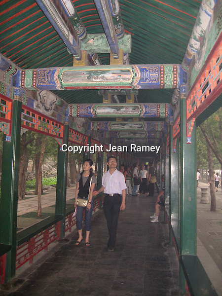 Covered Walkway at the Summer Palace, Beijing
