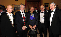 Killarney Chamber of Tourism and  Commerce President Johnny McGuire, Pat O'Leary, Isolde Liebherr , Mayor of the Killarney Municipal Authority,  Cllr John Joe Culloty and Conor Hennigan at  the Order of Inisfallen award   ceremony  for  Minister for the Diaspora Jimmy Deenihan in Muckross House, Killarney on Thursday evening. ÊPicture: Eamonn Keogh ( MacMonagle, Killarney)