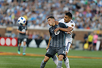 Minneapolis, MN - Saturday, July 14, 2018: Minnesota United FC played Real Salt Lake in a Major League Soccer (MLS) game at TCF Bank Stadium Final score Minnesota United 3, Salt Lake 2