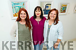 At the Olive Stack Studio in Listowel on Tuesday afternoon<br /> L to r: Ann Marie Price, Olive Stack and Dawn Mendelson