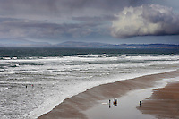 Surfers on Bundoran beach Sligo, Ireland.Picture James Horan Surfers on Bundoran beach County Sligo, Ireland