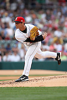 June 2, 2007:  Masumi Kuwata of the Indianapolis Indians at Victory Field in Indianapolis, IN.  Photo by:  Chris Proctor/Four Seam Images
