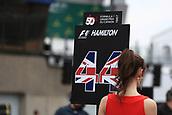 June 11th 2017, Circuit Gilles Villeneuve, Montreal Quebec, Canada; Formula One Grand Prix, Race Day. Lewis Hamilton's grid girl