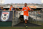20 September 2014: Carolina's Danny Barrera. The Carolina RailHawks played the New York Cosmos at WakeMed Stadium in Cary, North Carolina in a 2014 North American Soccer League Fall Season match. Carolina won the game 5-4.