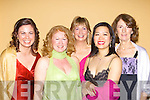 SMILES: Great smiles at the Bon Secour Hospital Gala Ball to raise funds for The Tralee Branch of Enable Ireland at Ballygarry House Hote & Spa, Tralee on Friday night. L-r: Laura Ruddy,Yvonne Devereaux, Grainne Keating,Chifan Cheuk and Kathleen O'Rourke. ..   Copyright Kerry's Eye 2008
