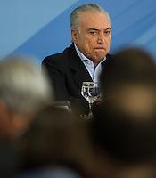 BRASILIA, DF, 27.11.2016 - TEMER-ENTREVISTA -    O presidente Temer, durante entrevista coletiva no Palácio do Planalto, neste domingo, 27. (Foto:Ed Ferreira / Brazil Photo Press)