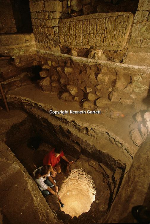 Maya; Honduras; Copan; Temple 26; Barbara Fash, Ray Bobine