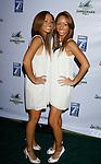 "MALIBU, CA. - September 10: Actresses Maya McClean and Nandy McClean arrive at the ""Surfer Dude"" premiere at the Malibu Cinemas on September 10, 2008 in Malibu, California."