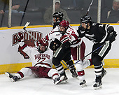 Lewis Zerter-Gossage (Harvard - 77), Robbie Hennessey (PC - 25), Alexander Kerfoot (Harvard - 14), Vincent Desharnais (PC - 2) - The Harvard University Crimson defeated the Providence College Friars 3-0 in their NCAA East regional semi-final on Friday, March 24, 2017, at Dunkin' Donuts Center in Providence, Rhode Island.
