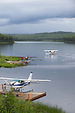 ALASKA, Talkeetna, alaska bush floatplane service south of Talkeetna, McKinley Scenic