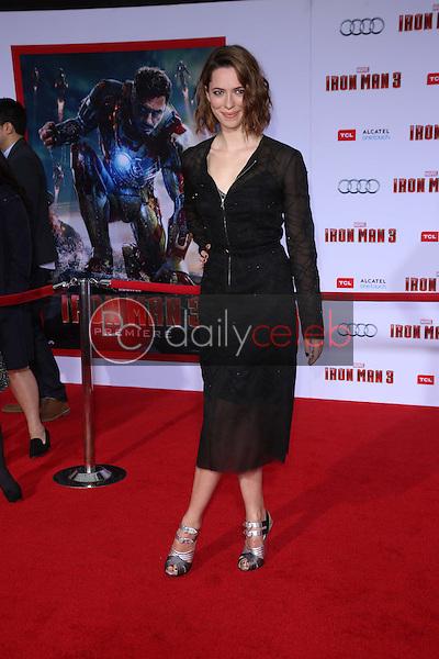 "Rebecca Hall<br /> at the ""Iron Man 3"" Los Angeles Premiere, El Capitan, Hollywood, CA 04-24-13<br /> David Edwards/Dailyceleb.com 818-249-4998"