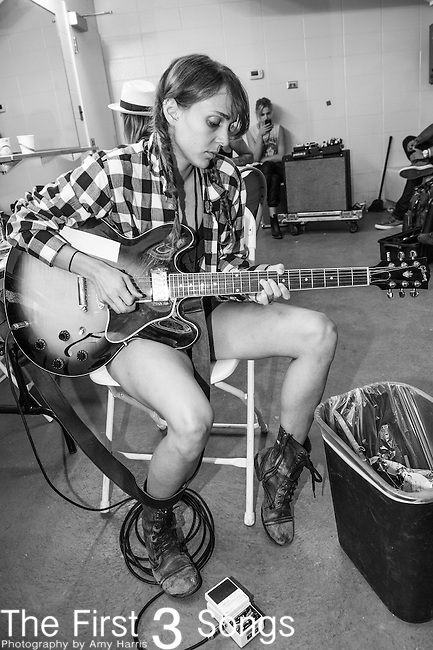 Siouxsie Medley of Dead Sara performs at the 2014 Bunbury Music Festival in Cincinnati, Ohio