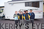 The KDYS are calling on teenagers to come up with a design for their new mobile youth cafe. .Front L-R Emly Leahy, Leanne Clifton and Jiauel Hoque .Back L-R Jonas Lyne, Helenor Guerin and Josef Urbanszky.