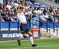 Bolton Wanderers' Pawel Olkowski<br /> <br /> Photographer Andrew Kearns/CameraSport<br /> <br /> The EFL Sky Bet Championship - Bolton Wanderers v Bristol City - Saturday August 11th 2018 - University of Bolton Stadium - Bolton<br /> <br /> World Copyright &copy; 2018 CameraSport. All rights reserved. 43 Linden Ave. Countesthorpe. Leicester. England. LE8 5PG - Tel: +44 (0) 116 277 4147 - admin@camerasport.com - www.camerasport.com