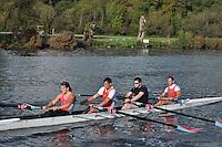349 WRC .Reading Rowing Club Small Boats Head 2011. Tilehurst to Caversham 3,300m downstream. Sunday 16.10.2011