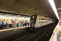 Metro de Valencia. Fallas 2011, Valencia, España