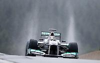 SPA FRANCORCHAMPS, 31 BELGICA - F1 - GP DA BELGICA - O piloto alemao da equipe Mercedes GP Michael Schumacher durante segundo dia de treinos livres para o GP da Belgica que acontece no proximo domingo. (FOTO: PIXATHLON / BRAZIL PHOTO PRESS).