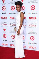 PASADENA, CA - SEPTEMBER 27: Actress/Singer Christina Milian arrives at the 2013 NCLR ALMA Awards held at Pasadena Civic Auditorium on September 27, 2013 in Pasadena, California. (Photo by Xavier Collin/Celebrity Monitor)