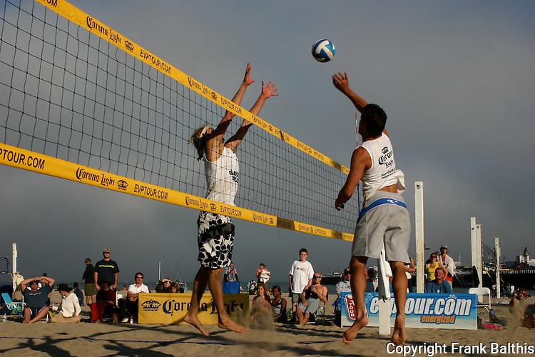 Beach volleyball on Main Beach