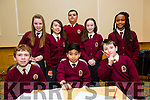 At the Credit Union Primary schools  Table Quiz in Brandon Hotel on Sunday were Adam Maher, Kristian Ycasas  James Moran, Back Ciara Sugrue, Diana Fazilova,Tobi Agboola,  Mairead McCarthy, Favor Itsede from Moyderwell