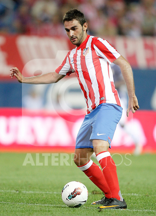 Atletico de Madrid's Adrian Lopez during UEFA Europa League third qualifying round match. July 28, 2011. (ALTERPHOTOS/Alvaro Hernandez)