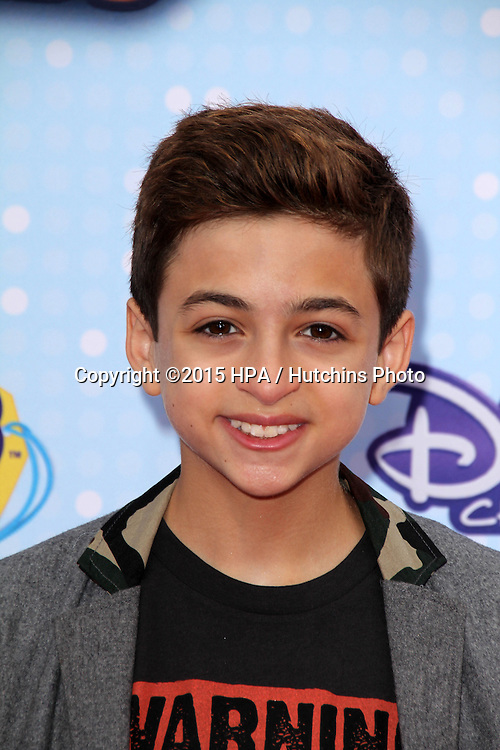 LOS ANGELES - FEB 25:  J.J. Totah at the Radio DIsney Music Awards 2015 at the Nokia Theater on April 25, 2015 in Los Angeles, CA