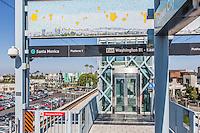 Metro Expo Line Washington Blvd Exit at Culver City Station