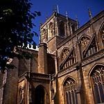 A3A9YE Sherborne Abbey church Dorset England