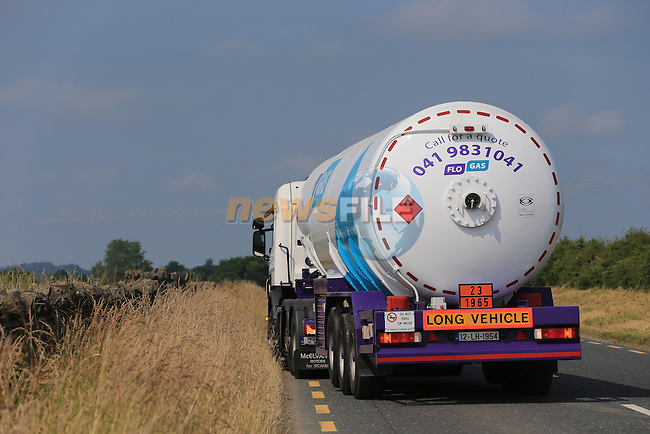 FLO GAS New colours on new Truck<br /> Picture:  www.newsfile.ie