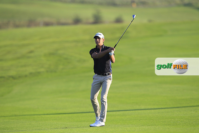 Joakim Lagergren (SWE) on the 11th fairway during Round 1 of the Made in Denmark 2016 at the Himmerland Golf Resort, Farso, Denmark on Thursday 25th August 2016.<br /> Picture:  Thos Caffrey / www.golffile.ie<br /> <br /> All photos usage must carry mandatory copyright credit   (&copy; Golffile | Thos Caffrey)