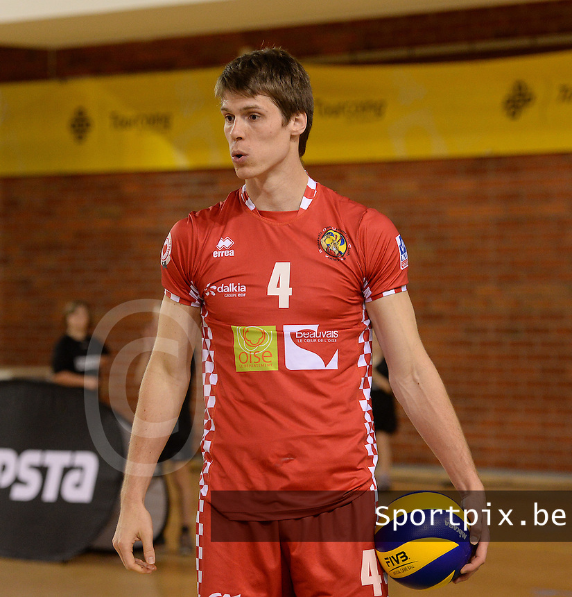 Beauvais Oise Universite Club Volley : Gert Van Walle<br /> foto VDB / BART VANDENBROUCKE