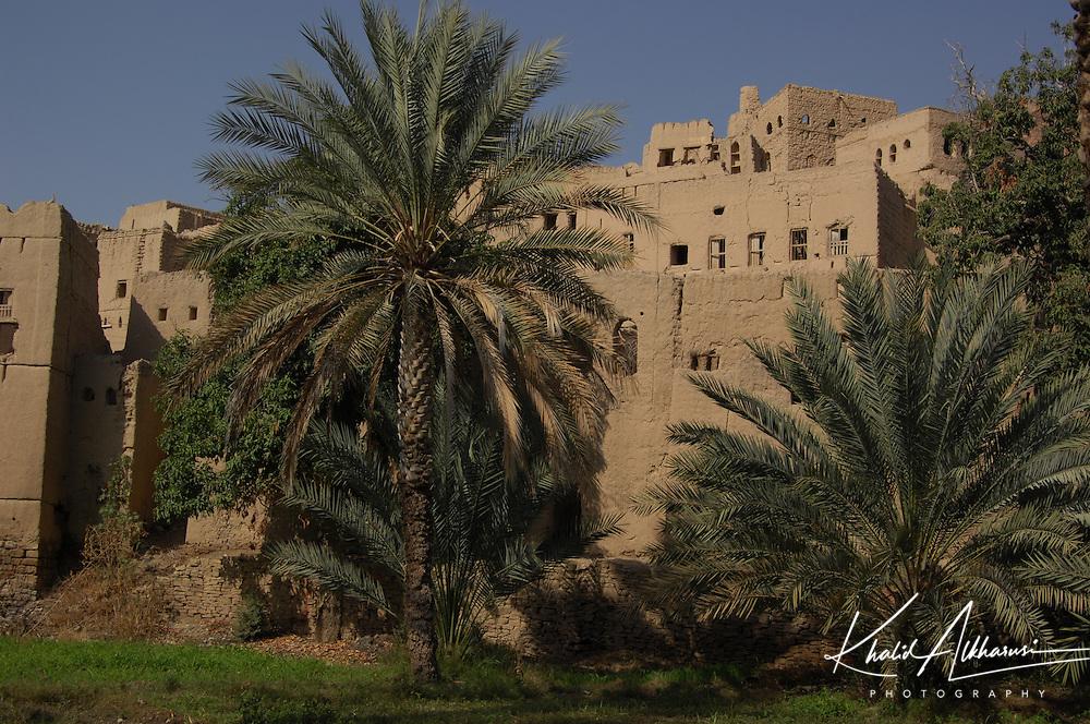 The old village at Birkat al Mouz, Oman. Located in Wadi Muaydin, very close Nizwa town