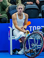 Alphen aan den Rijn, Netherlands, December 15, 2018, Tennispark Nieuwe Sloot, Ned. Loterij NK Tennis, Dide de Groot (NED)<br /> Photo: Tennisimages/Henk Koster