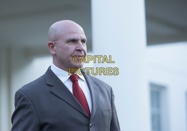 United States National Security Advisor, US Army Lieutenant General H. R. McMaster, makes a statement at the White House in Washington, DC refuting a Washington Post article alleging that US President Donald J. Trump shared secret information with the Russian Foreign Minister and Ambassador during their recent meeting, May 15, 2017. <br /> CAP/MPI/CNP/RS<br /> &copy;RS/CNP/MPI/Capital Pictures