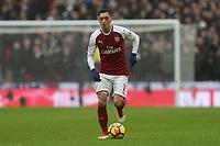 Mesut Ozil of Arsenal during Tottenham Hotspur vs Arsenal, Premier League Football at Wembley Stadium on 10th February 2018