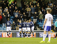 GOAL - Ryan Tunnicliffe of Millwall scores during the Sky Bet Championship match between Millwall and Birmingham City at The Den, London, England on 21 October 2017. Photo by Carlton Myrie.