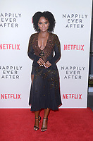 """Antoinette Robertson<br /> at the """"Nappily Ever After"""" Special Screening, Harmony Gold Theater, Los Angeles, CA 09-20-18<br /> Copyright DailyCeleb.com.  All Rights Reserved."""