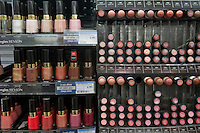 Various Revlon products are seen on a shelf at a Jean Coutu Pharmacy in Quebec city March 4, 2009.