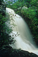 Reef Bay Waterfall in rainy season<br />