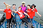 Bride Michelle McCarthy, Kenmare, pictured with her hens Lorraine McCarthy, Deirdre Sweeney, Sharon McCarthy, Tracey O'Sullivan and Collette O'Sullivan, who will take part in TV3's Battle of the Bridemsids on Friday.......................