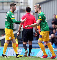 Preston North End's Paul Gallagher is replaced by Jayden Stockley<br /> <br /> Photographer Rich Linley/CameraSport<br /> <br /> The EFL Sky Bet Championship - Blackburn Rovers v Preston North End - Saturday 9th March 2019 - Ewood Park - Blackburn<br /> <br /> World Copyright © 2019 CameraSport. All rights reserved. 43 Linden Ave. Countesthorpe. Leicester. England. LE8 5PG - Tel: +44 (0) 116 277 4147 - admin@camerasport.com - www.camerasport.com