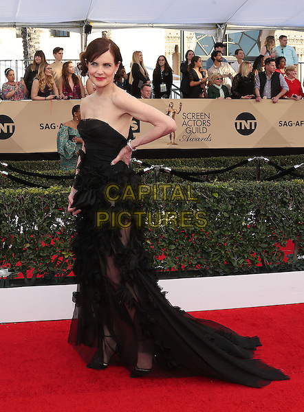 29 January 2017 - Los Angeles, California - Elizabeth McGovern. 23rd Annual Screen Actors Guild Awards held at The Shrine Expo Hall. <br /> CAP/ADM/FS<br /> &copy;FS/ADM/Capital Pictures