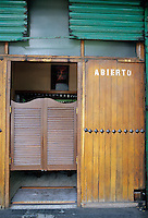 Swinging saloon doors from a Cantina in the San Angel districe of Mexico City. 5-14-04