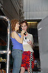 """Bernadette Peters and Mary Tyler Moore - Broadway Barks Lucky 13th Annual Adopt-a-thon - A """"Pawpular"""" Star-studded dog and cat adopt-a-thon on July 9, 2011 in Shubert Alley, New York City, New York with Bernadette Peters and Mary Tyler Moore as hosts.  (Photo by Sue Coflin/Max Photos)"""