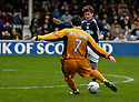 11/03/2006         Copyright Pic: James Stewart.File Name : sct_jspa06_motherwell_v_falkirk.SCOTT MCDONALD SCORES THE SECOND FOR MOTHERWELL....Payments to :.James Stewart Photo Agency 19 Carronlea Drive, Falkirk. FK2 8DN      Vat Reg No. 607 6932 25.Office     : +44 (0)1324 570906     .Mobile   : +44 (0)7721 416997.Fax         : +44 (0)1324 570906.E-mail  :  jim@jspa.co.uk.If you require further information then contact Jim Stewart on any of the numbers above.........