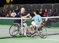 14-02-13, Tennis, Rotterdam, ABNAMROWTT, Ronald de Vink - Shingo Kunieda