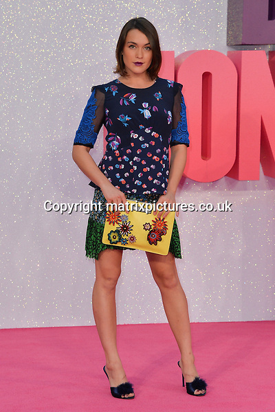 NON EXCLUSIVE PICTURE: MATRIXPICTURES.CO.UK<br /> PLEASE CREDIT ALL USES<br /> <br /> WORLD RIGHTS<br /> <br /> British model and blogger Ella Catliff attends the world premiere of &quot;Bridget Jones's Baby&quot; at Leicester Square in London.<br /> <br /> SEPTEMBER 5th 2016<br /> <br /> REF: JWN 162864