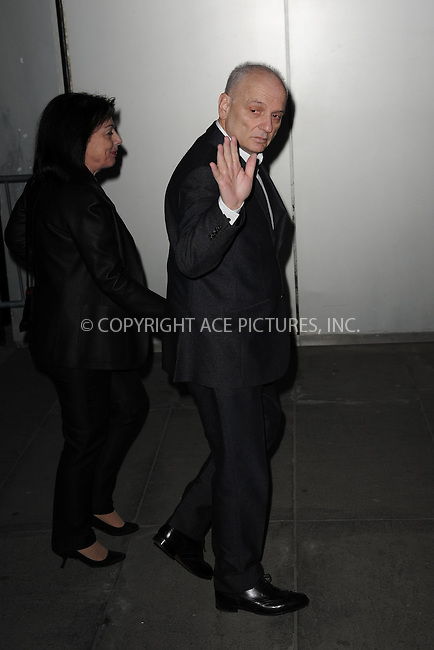 WWW.ACEPIXS.COM<br /> March 22, 2015 New York City<br /> <br /> David Chase attending the 'Mad Men' New York Special Screening at The Museum of Modern Art on March 22, 2015 in New York City.<br /> <br /> Please byline: Kristin Callahan/AcePictures<br /> <br /> ACEPIXS.COM<br /> <br /> Tel: (646) 769 0430<br /> e-mail: info@acepixs.com<br /> web: http://www.acepixs.com