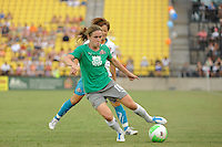 Heather O'Reilly of Abby XI during the Women's Professional Soccer (WPS) All-Star Game at KSU Stadium in Kennesaw, GA, on June 30, 2010.